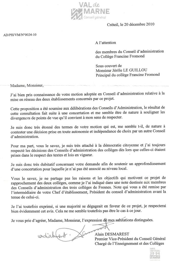 Lettre-CG-motionCAFusionCollèges