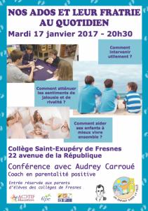 Conférence Parentalité UEDLV